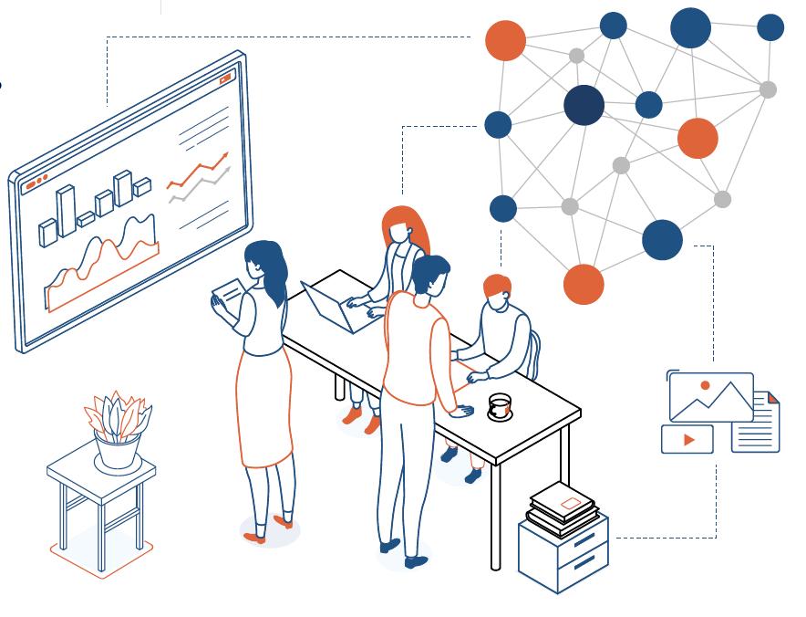 Illustration for Big Data/Connected Data